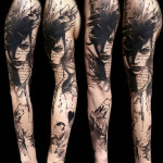 Cool Trendy Full Sleeve Tattoo Designs For Men