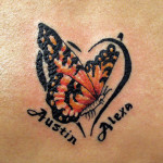 Couple Name Tattoo Designs