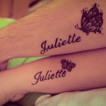 Couple Name Tattoo Designs For Men