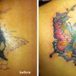Cover  Up Butterfly Tattoo
