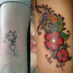Cover  Up Shoulder Tattoo