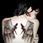 Creative Back Wings New Tattoo Designs