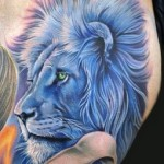 Lion Tattoo Designs For Men