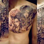 Creative Chest New Tattoo Designs