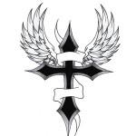Cross Cool Art Tattoo Designs