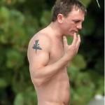 Daniel Craig Male Celebrity Tattoos