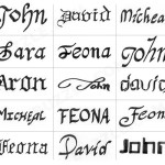 Different Name Tattoo Designs