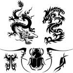 Dragon Art Tattoo Designs