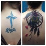 Dream Catcher Cover  Up Tattoo