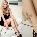 Drew Barrymore  Female Celebrity Tattoos