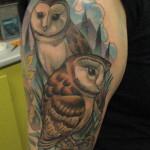 Eagle Shoulder Tattoo Designs