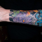 Flower Arm Tattoo Designs