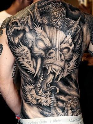 c8818db48 Full Back Dragon Tattoo Designs For Men | Tattoo Love