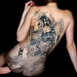 Full Back Tattoo Art Designs
