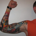 Full Sleeve Colorful Tattoo Designs For Men
