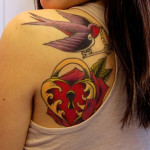 Great Shoulder Tattoo Designs For Women