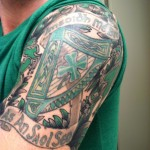 Half Sleeve Celtic Tattoo Designs