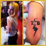 Hayley Williams Female Celebrity Tattoos