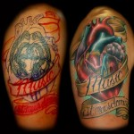 Heart Tattoo Cover Up