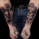 Inner Arm Creative Tattoo Designs