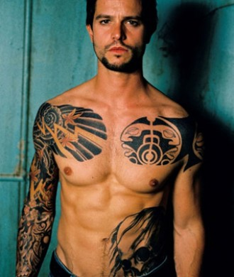 male celebrity tattoos