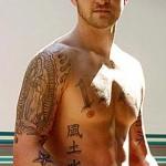 Justin Timberlake Famous Celebrity Tattoo