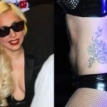Lady Gaga Female Celebrity Tattoos