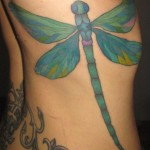 Large Dragonfly Body Tattoo Designs