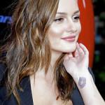Leighton Meester Female Celebrity Tattoos