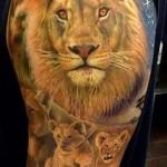 Lions-tattoo