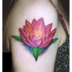 Lotus Flower Arm Designs