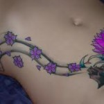 Lotus Flower Tattoo Designs On Body