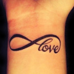 Love Wrist Tattoo Designs For Girls