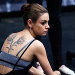 Mila Kunis  Female Celebrity Tattoos
