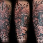 Name Full Sleeve Tattoo Designs For Men