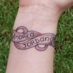 Name Tattoo Designs On Wrist