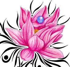 Pink tribal lotus flower tattoo designs tattoo love pink tribal lotus flower tattoo designs mightylinksfo