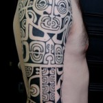Polynesian Half Sleeve Classic Tattoo Designs