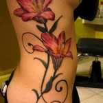 Red Lotus Tattoo Designs