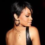 Rihanna  Female Celebrity Tattoos