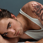 Robert Pattinson Male Celebrity Tattoo