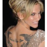 Sarah Harding Female Celebrity Tattoos