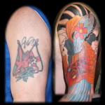 Shoulder Tattoo Cover Up