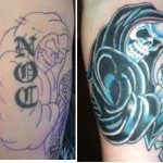 Skull Amazing Tattoo Cover Up