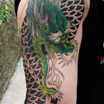 Sleeve Dragon Tattoo Designs For Men