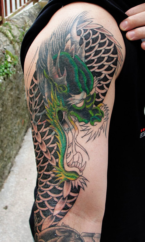 Sleeve Dragon Tattoo Designs For Men Tattoo Love