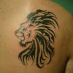 Small Lion Tattoo Designs For Men