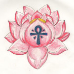 Small Pink Lotus Flower Tattoo Designs