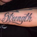 Strength Arm Amazing Tattoo Designs