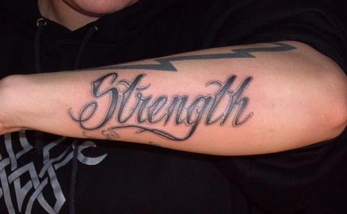Strength Arm Amazing Tattoo Designs Tattoo Love